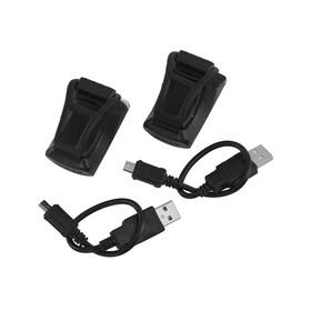 Cube LTD+ Fietsverlichting sets zwart